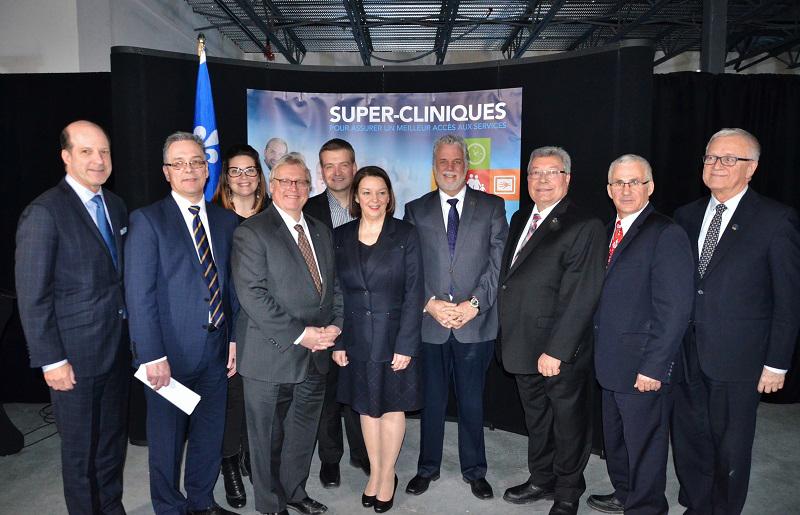 Ouverture de la première super-clinique à Sherbrooke